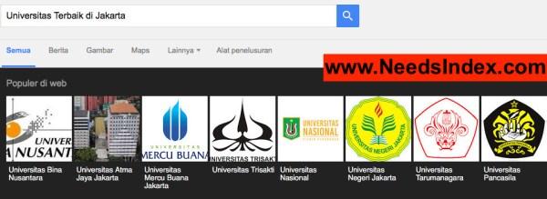 Universitas Terbaik di Jakarta Penelusuran Google