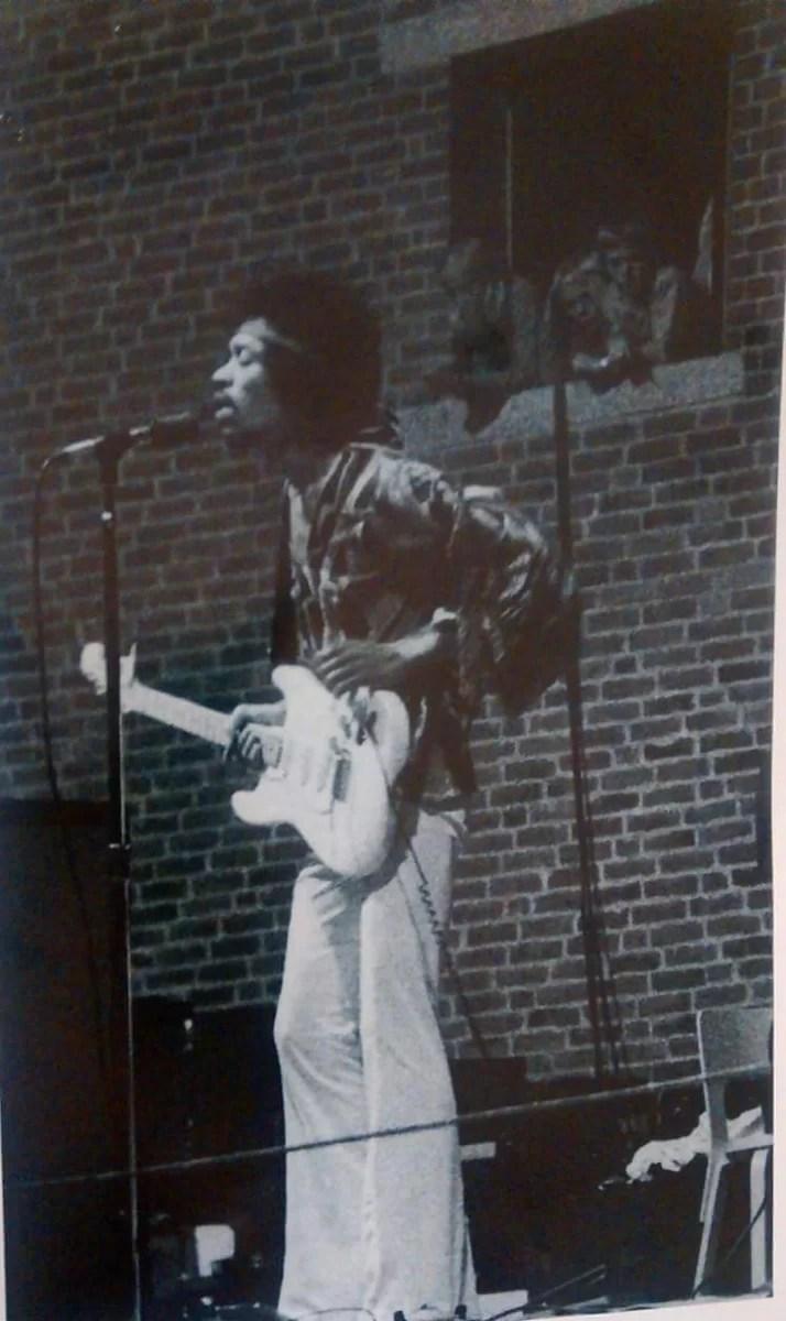 Rare Jimi Hendrix Photos 20 Photos NSF MUSIC STATION