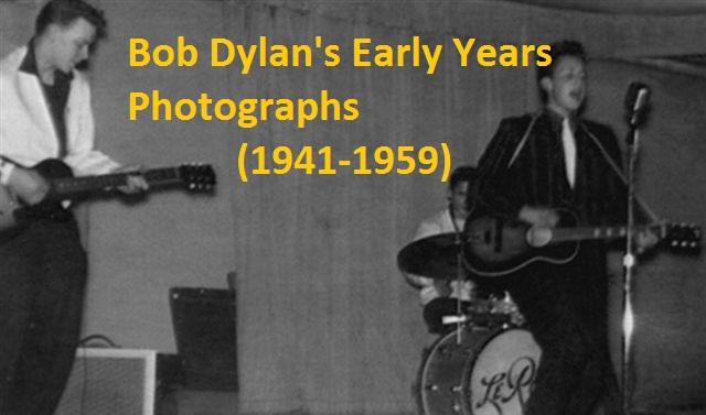 Bob Dylans Early Photographs 19411959  NSF  MUSIC