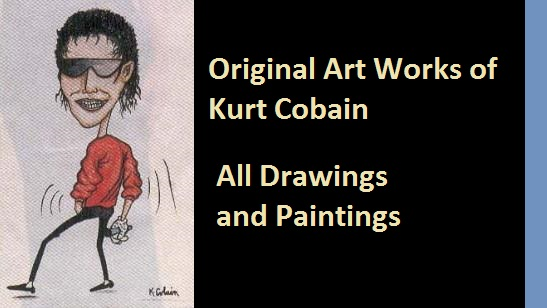 Original Art Works of Kurt Cobain  NSF  MUSIC STATION