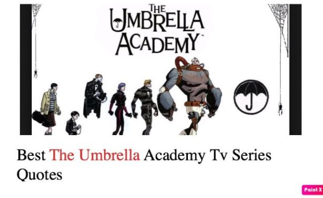 Best The Umbrella Academy Tv Series Quotes Nsf Music