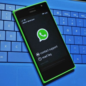 How to archive whatsapp chat in windows phone