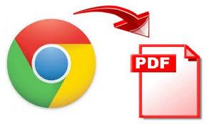 Save webpage as a PDF file
