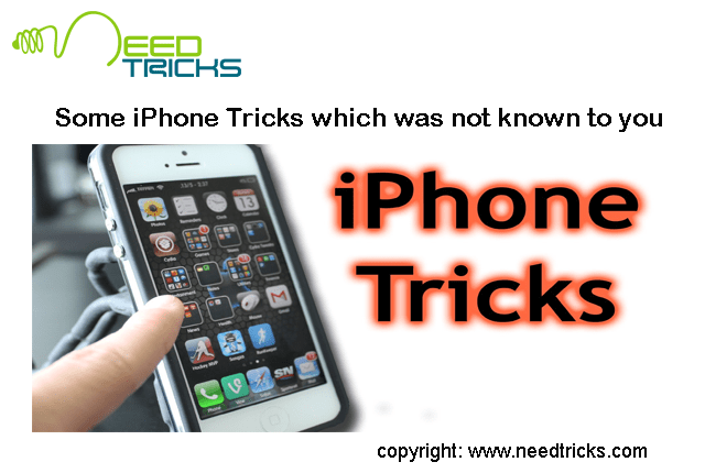 Some iPhone Tricks which was not known to you