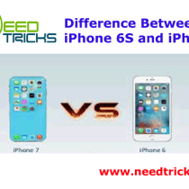 Difference Between iPhone 6S and iPhone 7