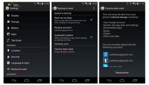 How to Master Reset Your Android Device