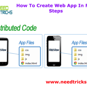 How To Create Web App In Few Steps