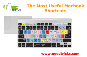 The Most Useful Macbook Shortcuts