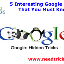 5 Interesting Google Tricks That You Must Know