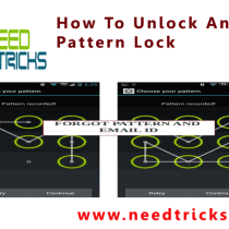How To Unlock Android Pattern Lock