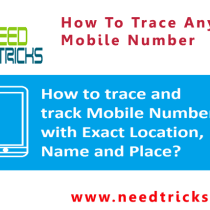 How To Trace Any Mobile Number