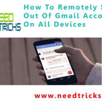 How To Remotely Sign Out Of Gmail Account On All Devices