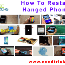 How To Restart Hanged Phone
