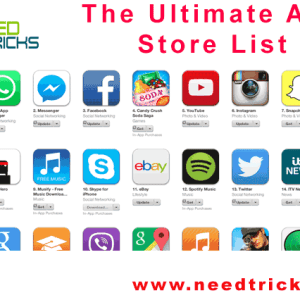 The Ultimate App Store List