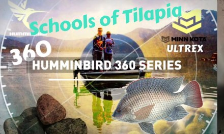 Humminbird 360- On the water EP3- Schools of Tilapia