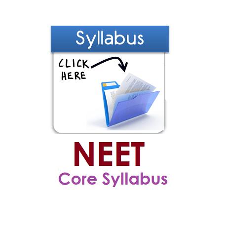 NEET Syllabus