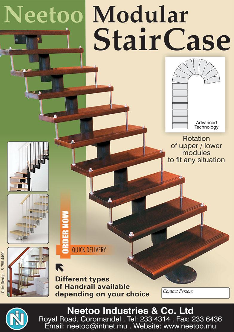 Modular Staircase Mauritius Neetoo Mu Shop Mauritius