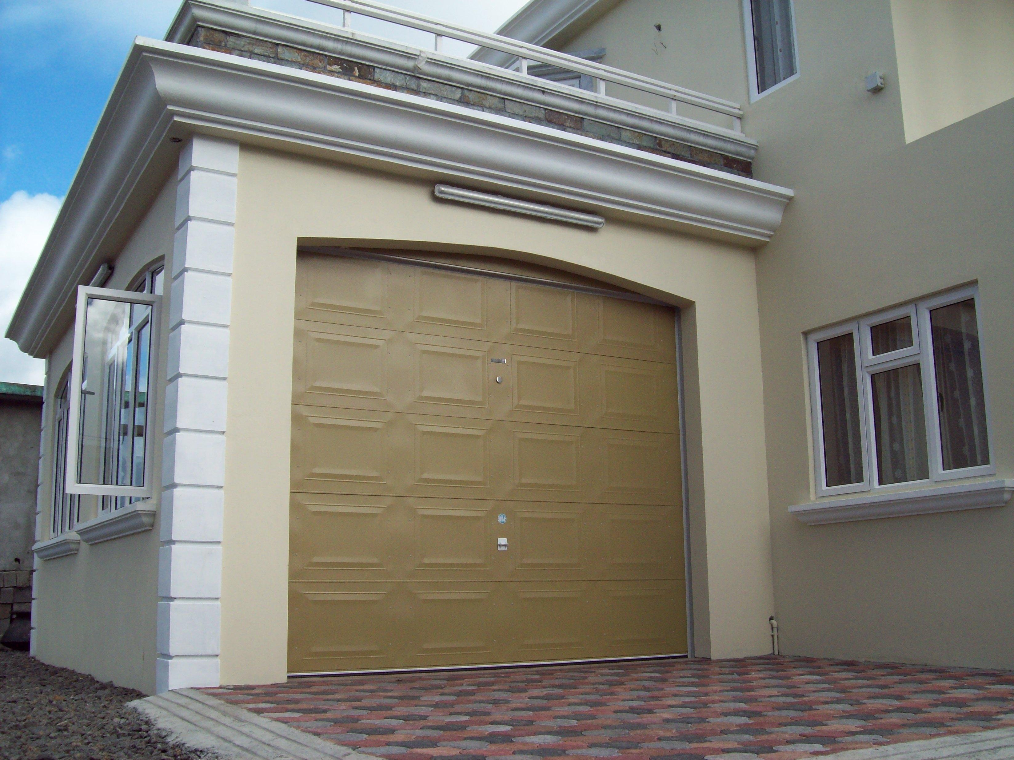 Garage Door With Pedestrian Door
