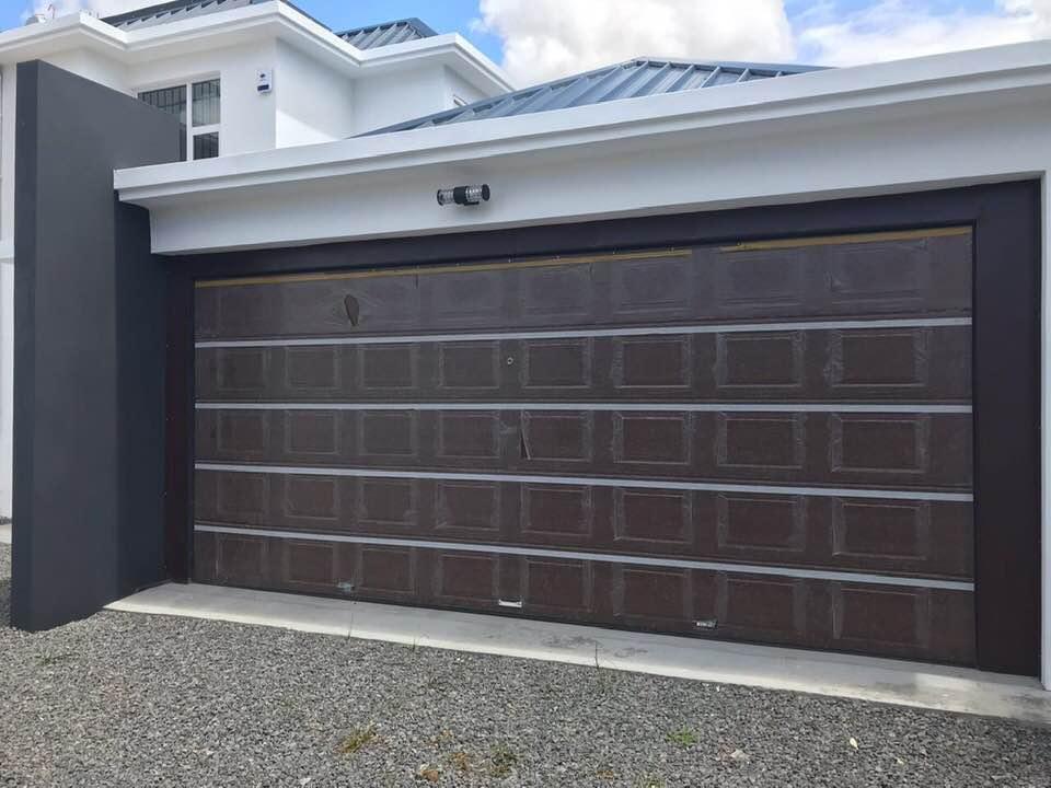 Closing Garage Car Door