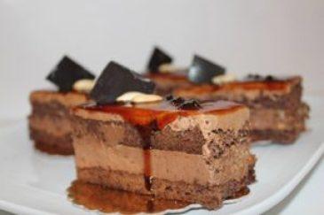 Karamelli Çikolatalı Pasta - Pasta Tarifleri