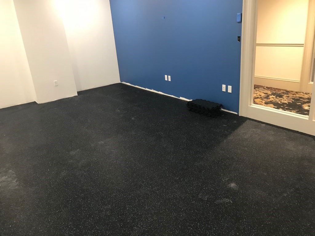 Rubber Flooring Installation  Rubber Tile  Northeast