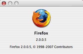 firefox 2.0.5