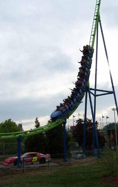 G Six Flags Kentucky Kingdom Greezed Lightnin Opening