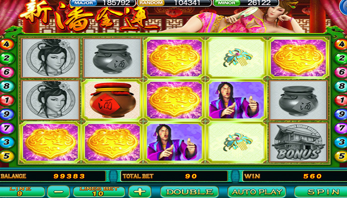 Game Slot Online Joker123 Pan Jin Lian