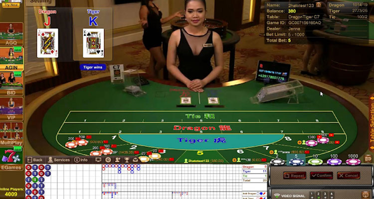 Cara Bermain Live Dragon Tiger OSG Casino
