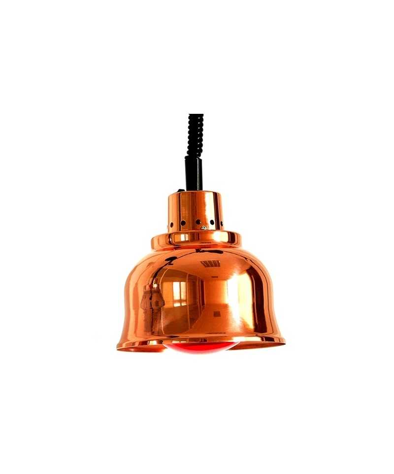 sofraca lampe chauffante cuivree rouge 33002ac