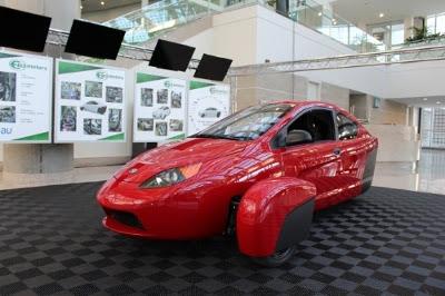 Elio Motors Unveils P5 Prototype