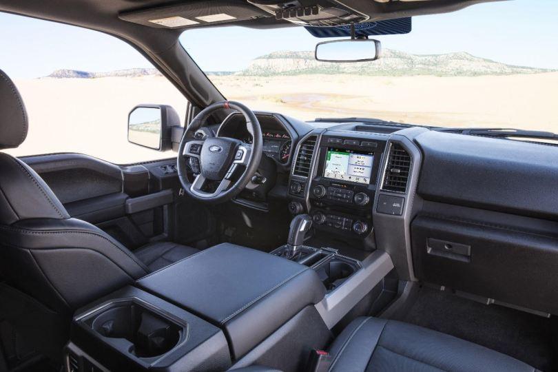 Interior de la nueva Ford F 150.