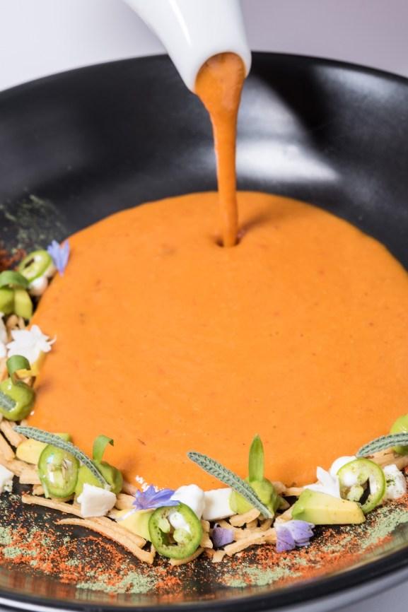 Sopa de tortilla, es el plato más memorable en Anepalco.
