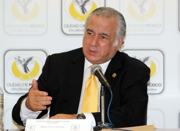 El Secretario de Turismo de la Ciudad de México, Miguel Torruco Marqués.
