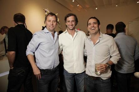 Santiago Steed, Adrian Simonetti y Luis Posse.