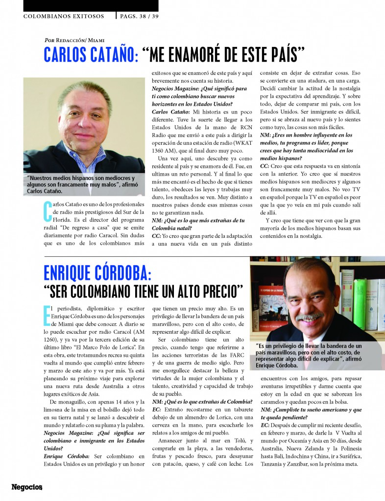 Negocios_magazine= colombianos exitosos