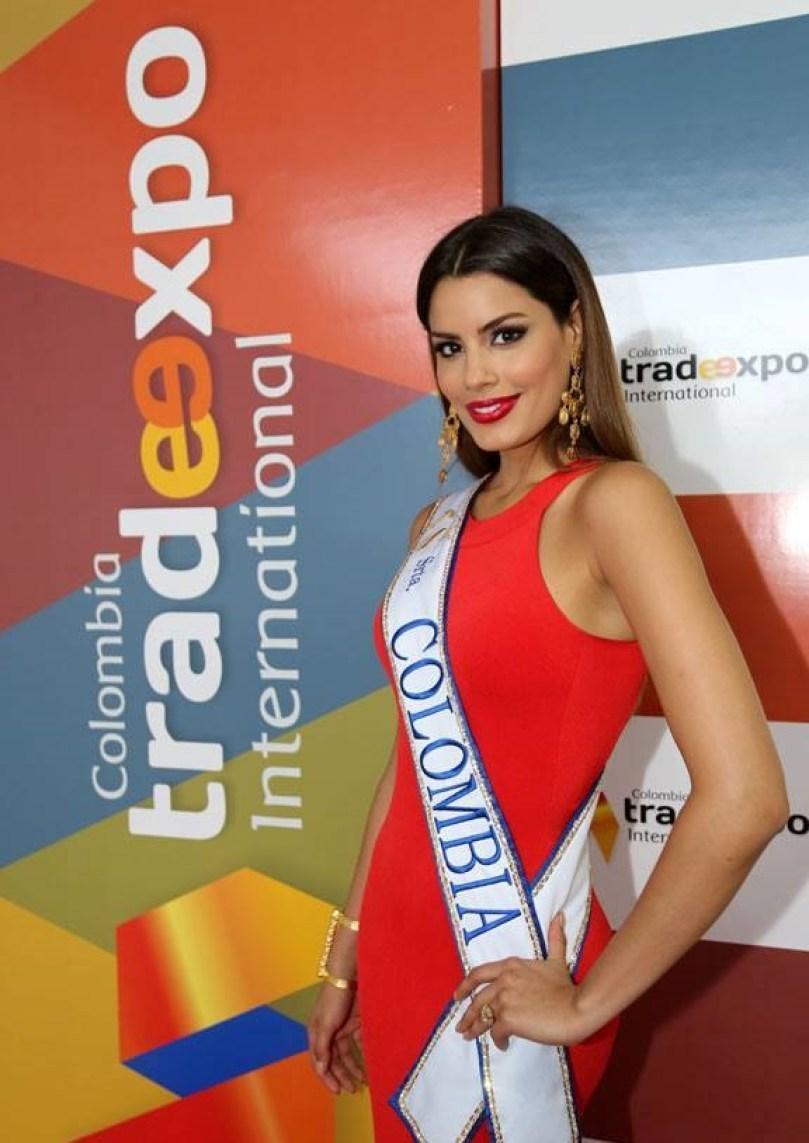 Ariadna Gutiérrez Arévalo, Señorita Colombia de 2015.