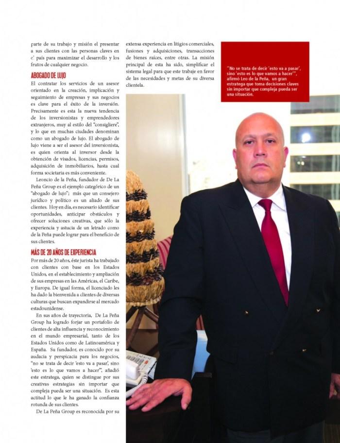 Negocios Magazine leo peña