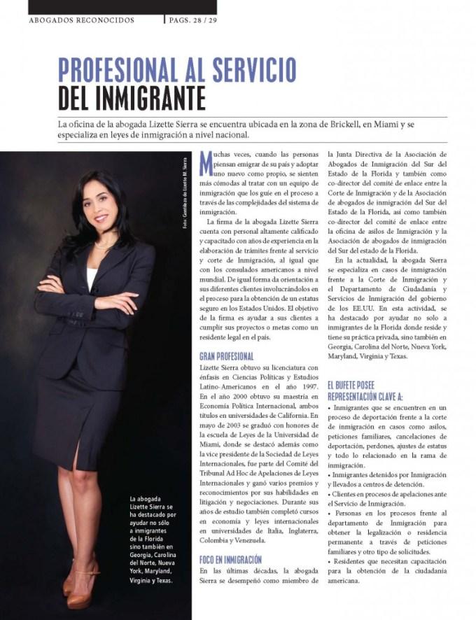 Negocios Magazine lizette Sierra