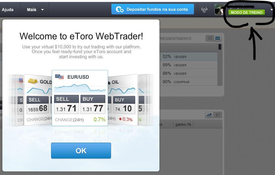 O eToro é um jogo Virtual ou Forma de Ganhar Dinheiro Real?