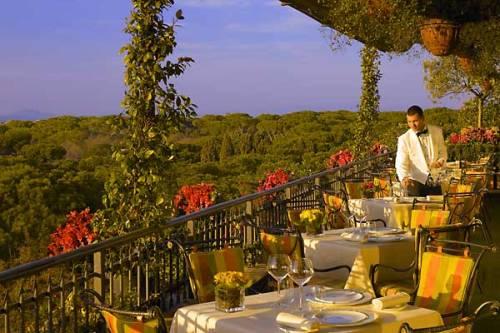 Cena romantica a Roma C la terrazza del Mirabelle