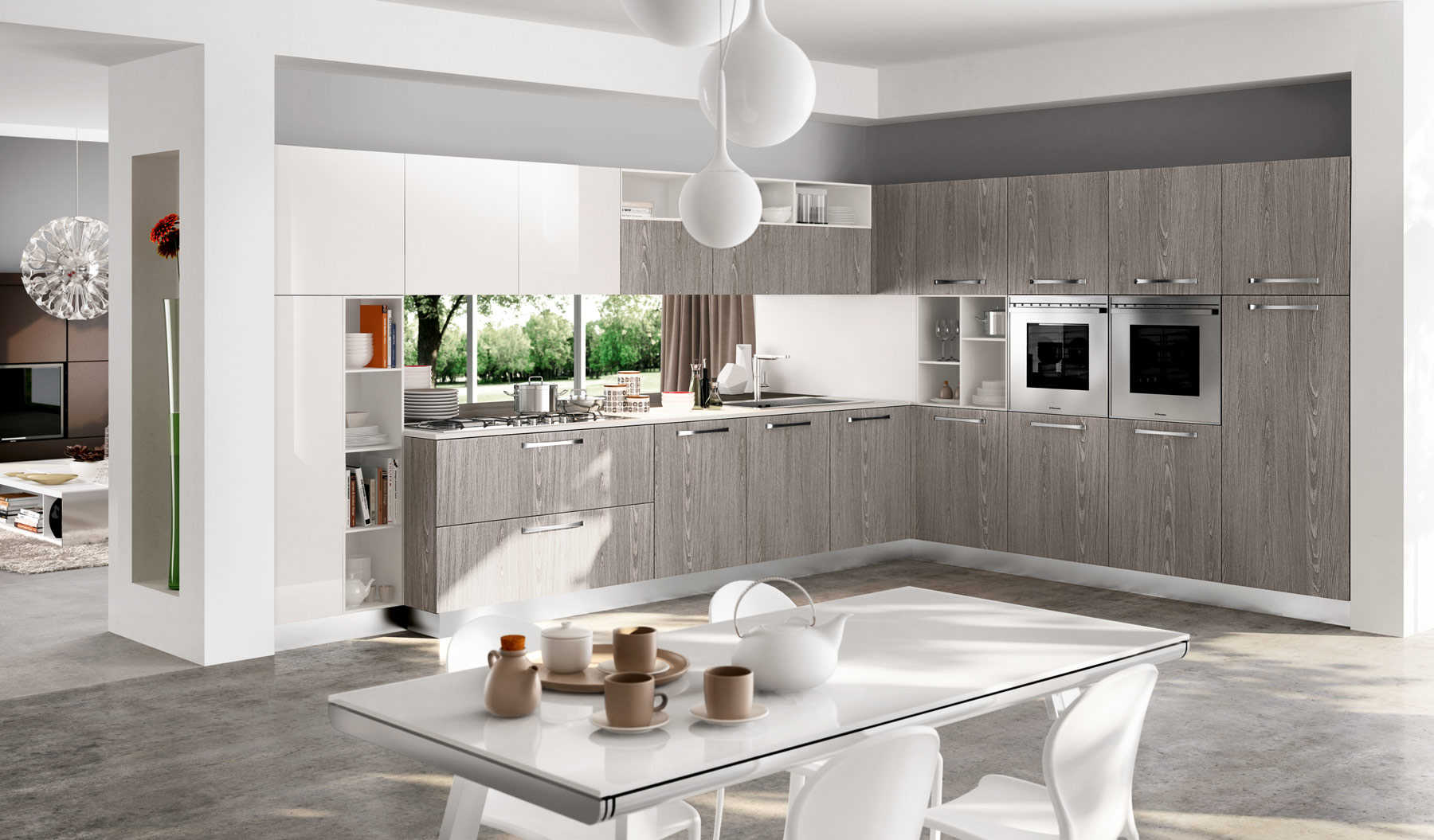 Cucina moderna Wood  Negozio Arredamento