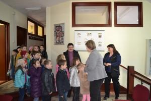 Școala Altfel. Copiii din clasa pregătitoare, în vizită la Primăria Negrești-Oaș (6)