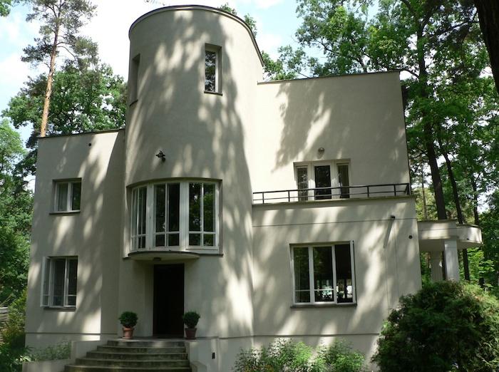 Modern stílusú villa 1933-ból