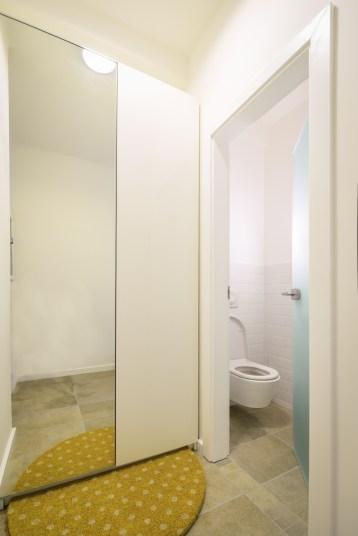 Gardrób-wc