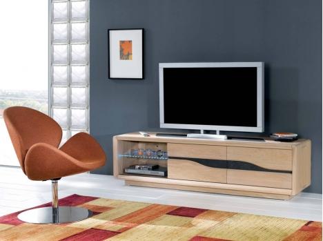 meuble tv bois sur rouen boos