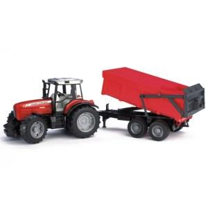 Damperli Traktör
