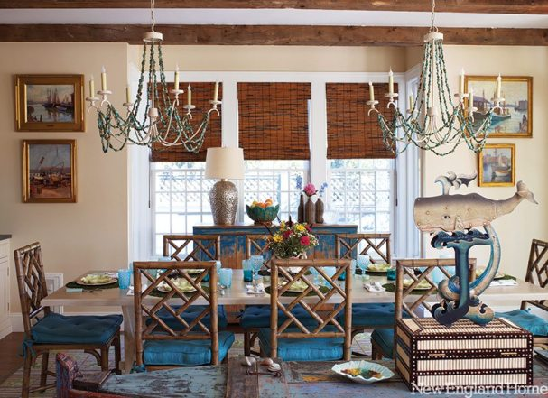 Carol Bancker Vietor Interior Decoration chandelier