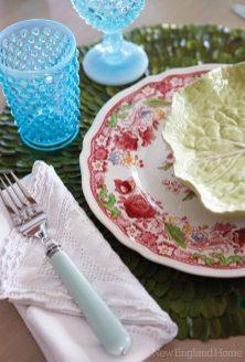 Carol Bancker Vietor Interior Decoration dining plates