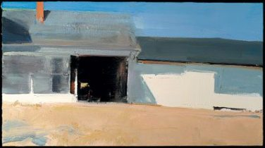 "Guilford Ell (2005), oil on linen, 22"" x 40"""